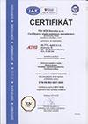 Altys s.r.o. Certifikát ISO 9001:2009