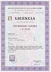 Altys s.r.o. Licencia technická služba
